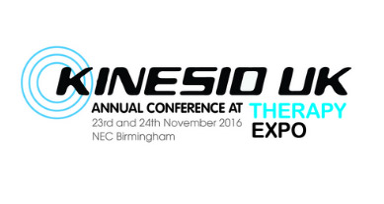 Kinesio UK Conference at Therapy Expo 2016!